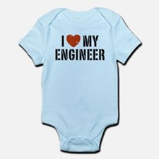 I Love My Engineer Infant Bodysuit