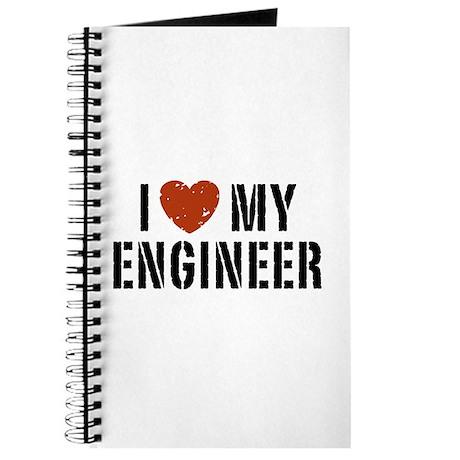 I Love My Engineer Journal