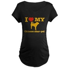 I love my Chinese Shar-pei T-Shirt