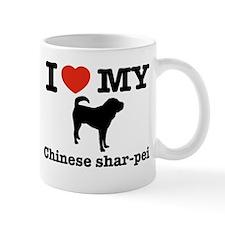 I love my Chinese Shar-pei Mug