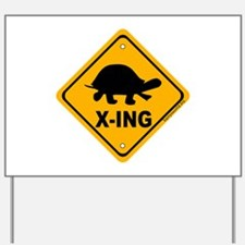Turtle X-ing Yard Sign