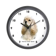 American Cocker Spaniel 9Y244D-035 Wall Clock