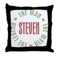 Steven Man Myth Legend Throw Pillow