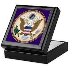 Presidents Seal Keepsake Box