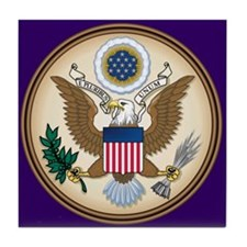 Presidents Seal Tile Coaster