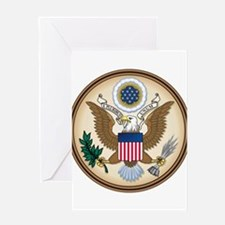 Presidents Seal Greeting Card