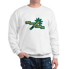 Funny Baseball lunch Sweatshirt