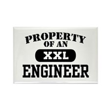 Property of an Engineer Rectangle Magnet