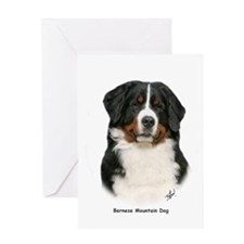 Bernese Mountain Dog 9Y348D-094 Greeting Card