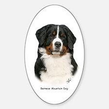 Bernese Mountain Dog 9Y348D-094 Sticker (Oval)