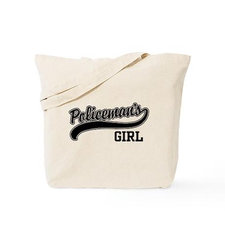 Policeman's Girl Tote Bag