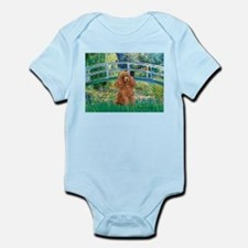 Lily Pond Bridge/Poodle (apri Infant Bodysuit