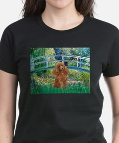 Lily Pond Bridge/Poodle (apri Tee