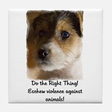 Do the Right Thing... Tile Coaster
