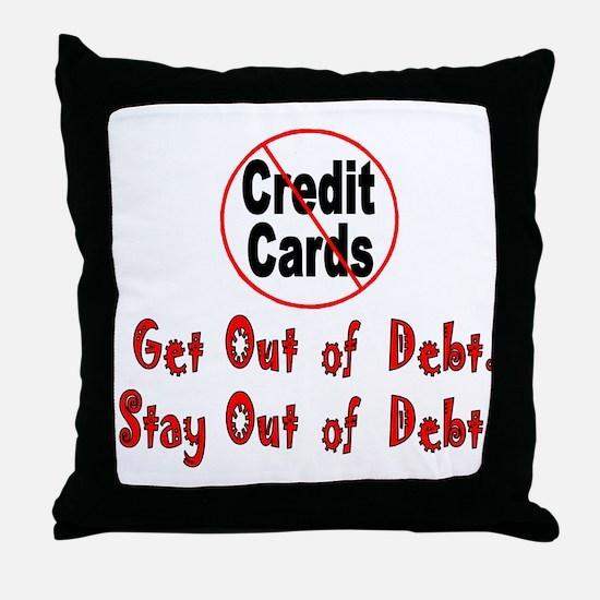 Cool Finances Throw Pillow