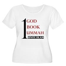 1 GOD, BOOK & UMMAH T-Shirt