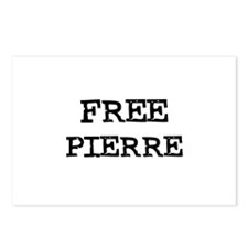 Free Pierre Postcards (Package of 8)
