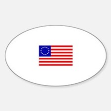 United States (1777) Oval Decal
