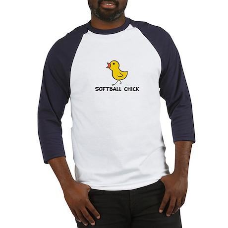 Softball Chick Baseball Jersey
