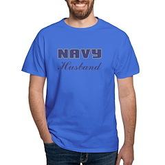 Navy Husband T-Shirt