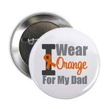 "I Wear Orange (Dad) 2.25"" Button"