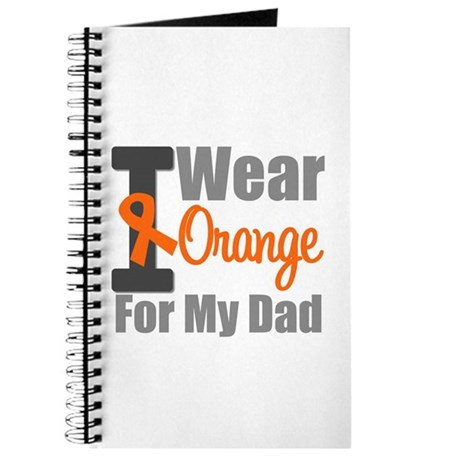 I Wear Orange (Dad) Journal