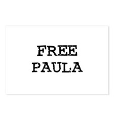 Free Paula Postcards (Package of 8)