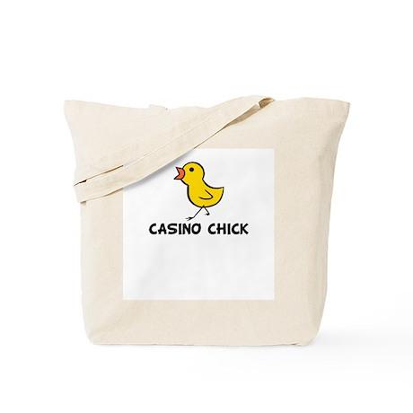 Casino Chick Tote Bag