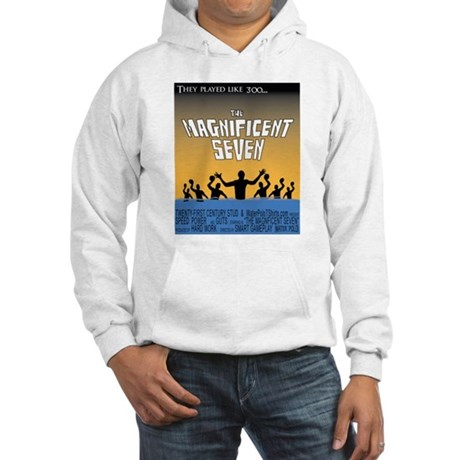 magnificent seven Hooded Sweatshirt