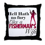 Fisherman's Wife Throw Pillow