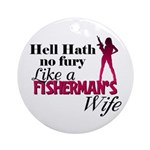 Fisherman's Wife Ornament (Round)