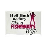 Fisherman's Wife Rectangle Magnet