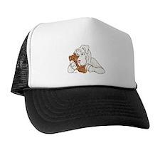 NWt Bearhug Trucker Hat