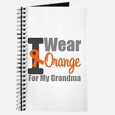 I Wear Orange (Grandma) Journal