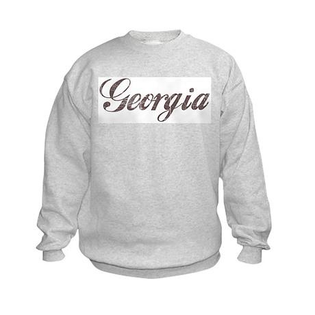 Vintage Georgia Kids Sweatshirt