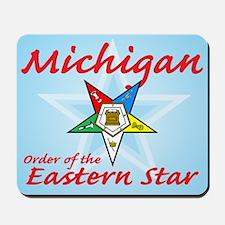 Michigan Eastern Star Mousepad
