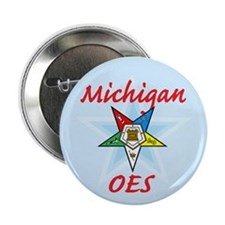"""Michigan Eastern Star 2.25"""" Button (10 pack)"""