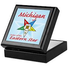 Michigan Eastern Star Keepsake Box