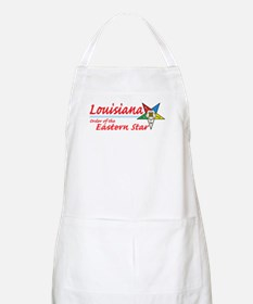 Louisiana Eastern Star BBQ Apron