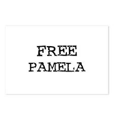 Free Pamela Postcards (Package of 8)