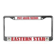 Past Grand Matron License Plate Frame