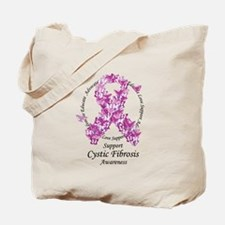 CF Butterfly Ribbon Tote Bag