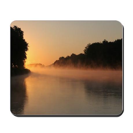 Mississippi River Sunrise, Mousepad
