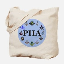 PHA Square and Compass Tote Bag