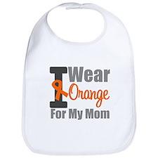 I Wear Orange For My Mom Bib