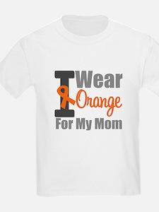 I Wear Orange For My Mom T-Shirt