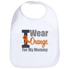 I Wear Orange For My Mommy Bib
