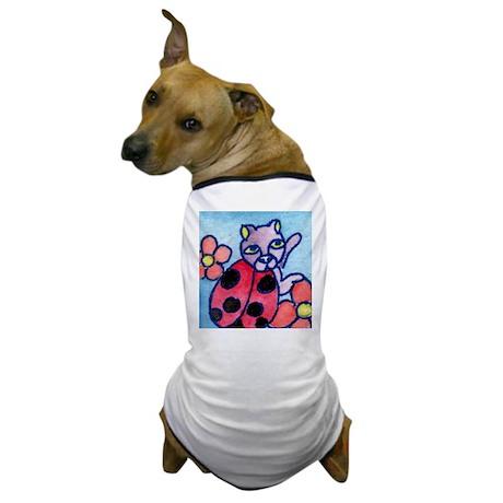 Ladybug Cat Dog T-Shirt