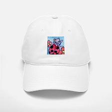 Ladybug Cat Baseball Baseball Cap