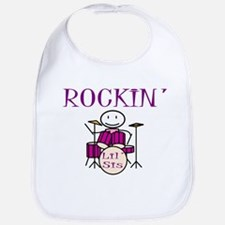 Rocking Little Sister Bib